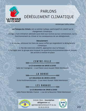 FRESQUES DU CLIMAT