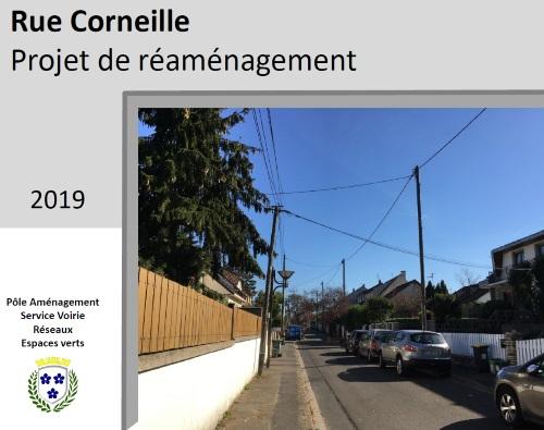 Rue CORNEILLE - Projet de réaménagement